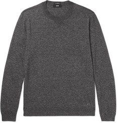 Hugo Boss Ives Mélange Cotton Sweater