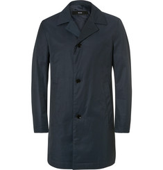 Hugo Boss - Slim-Fit Water-Repellent Cotton-Blend Twill Coat