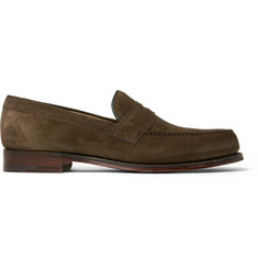 Cheaney - Hudson Suede Penny Loafers
