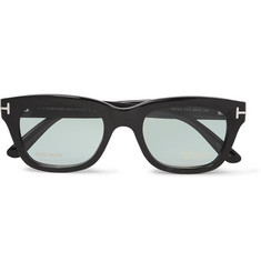 TOM FORD - Private Collection D-Frame Horn Optical Glasses