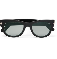 Tom Ford - Private Collection D-Frame Horn Photochromic Sunglasses