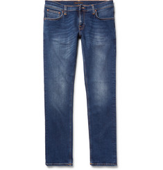 Nudie Jeans - Long John Skinny-Fit Stretch-Denim Jeans