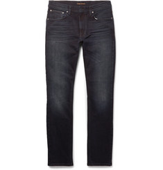 Nudie Jeans Lean Dean Slim-Fit Dry Organic Stretch-Denim Jeans