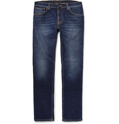 Nudie Jeans Grim Tim Slim-Fit Stretch-Denim Jeans