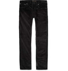 Nudie Jeans Grim Tim Slim-Fit Organic Stretch-Cotton Corduroy Trousers