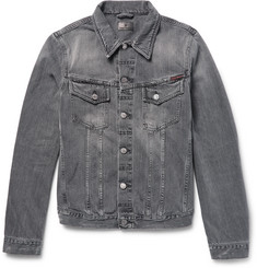 Nudie Jeans Billy Distressed Denim Jacket