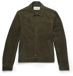 Oliver Spencer Slim-Fit Suede Jacket