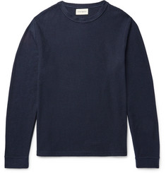 Oliver Spencer Berwick Textured Cotton-Jersey T-Shirt