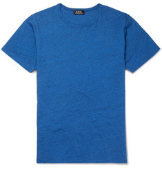 A.P.C. Slim-Fit Mélange Cotton-Jersey T-Shirt