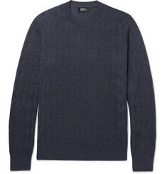 A.P.C. - Merino Wool-Blend Sweater