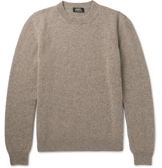 A.P.C. - Wool and Cashmere-Blend Sweater