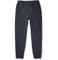 Folk Slim-Fit Tapered Cotton-Piqué Sweatpants