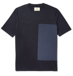 Folk Slim-Fit Shell and Cotton-Jersey T-shirt