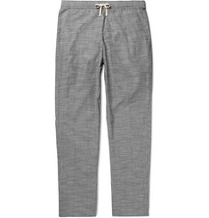 Oliver Spencer Loungewear - Pinstriped Cotton Pyjama Trousers