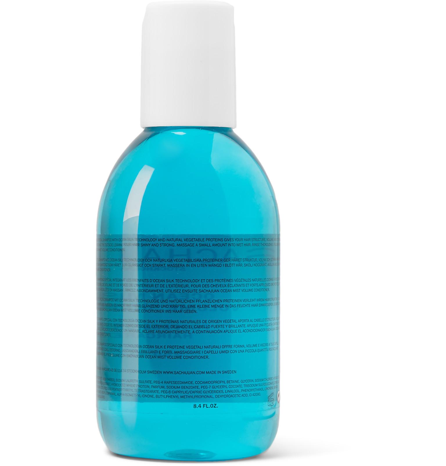 sachajuan volume shampoo
