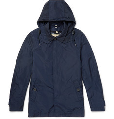 Burberry Shell Hooded Raincoat