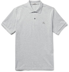 Burberry - Brit Slim-Fit Cotton-Piqué Polo Shirt