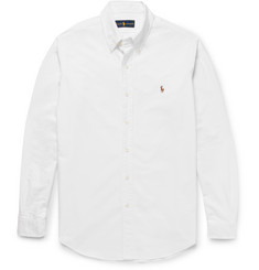 Polo Ralph Lauren Standard-Fit Button-Down Collar Cotton Oxford Shirt