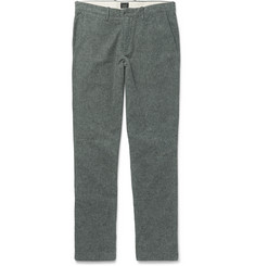 J.Crew Brushed Cotton-Twill Chinos