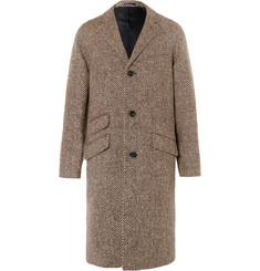 J.Crew Magee Herringbone Wool Coat