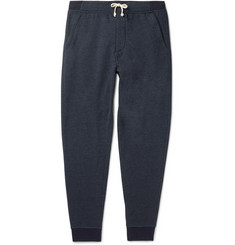 J.Crew Classic Tapered Fleece-Back Cotton-Blend Jersey Sweatpants