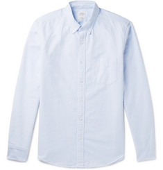 J.Crew Slim-Fit Button-Down Collar Striped Cotton Oxford Shirt