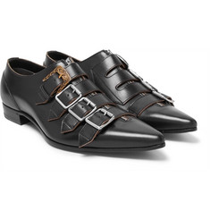 Gucci - Quebec Leather Monk Strap Shoes