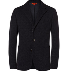 Barena - Blue Torceo Slim-Fit Unstructured Wool and Cotton-Blend Blazer
