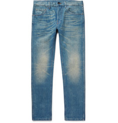 Gucci Slim-Fit Stonewashed Denim Jeans