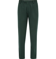 Gucci Tapered Cotton Trousers