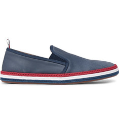 Thom Browne Coated-Canvas Espadrilles