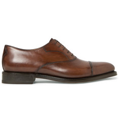 Berluti Roccia Polished-Leather Oxford Shoes