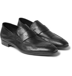 Berluti Lorenzo Leather Penny Loafers