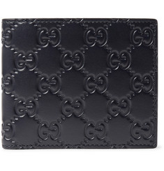 Gucci - GG Debossed Leather Billfold Wallet