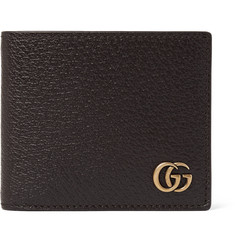 Gucci Marmont Full-Grain Leather Wallet