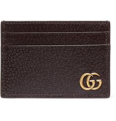 Gucci - Textured-Leather Cardholder with Money Clip