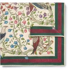 Gucci - Printed Silk Pocket Square