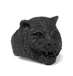 Gucci - Blackened Metal Tiger Ring