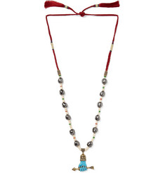 Gucci - Multi-Stone Bead Necklace