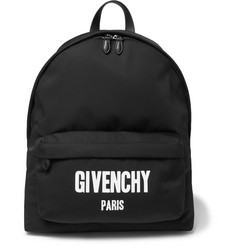 Givenchy Printed Canvas Backpack