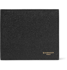Givenchy - Eros Pebble-Grain Leather Billfold Wallet