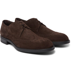 Hugo Boss - Suede Derby Shoes