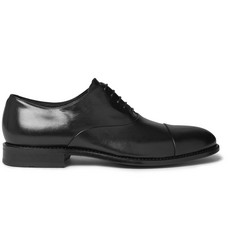 Hugo Boss Stockholm Cap-Toe Leather Oxford Shoes