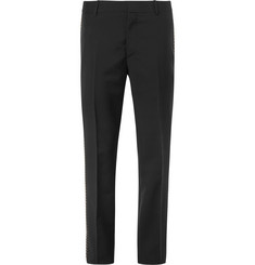 Alexander McQueen Wool and Mohair-Blend Trousers