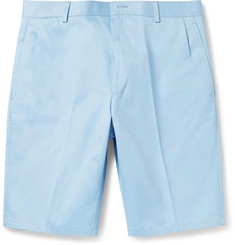 Thom Browne Slim-Fit Cotton-Twill Shorts