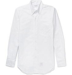 Thom Browne - Slim-Fit Button-Down Collar Cotton Oxford Shirt