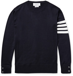 Thom Browne - Striped Merino Wool Sweater