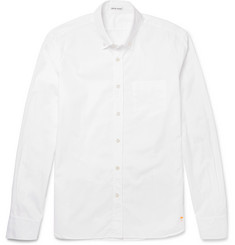 Tomas Maier Slim-Fit Button-Down Collar Cotton-Poplin Shirt