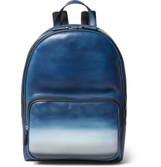 Berluti Time Off Dégradé Polished-Leather Backpack