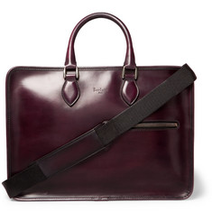 Berluti - Deux Jours Polished-Leather Briefcase
